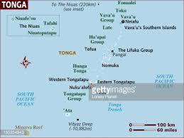 tonga map map of tonga stock illustration getty images
