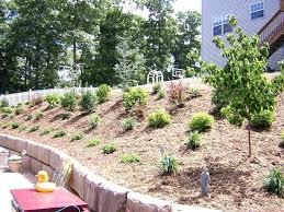 Steep Hill Backyard Ideas Backyard Landscaping Ideas With Hill Hillside Landscaping Ideas