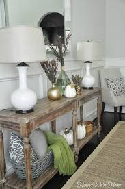 Living Room Console Table Neutral Dining Room Console Table Honey We Re Home Honey We