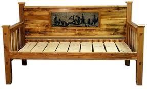 bradley u0027s furniture etc rustic log and barnwood daybeds