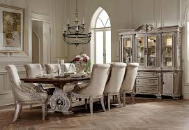 homelegance orleans ii trestle dining set white wash weathered