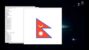 Pics Of Nepal Flag Unique Flag Of Nepal Python Programming Youtube