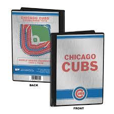 baseball photo album cubs 4x6 mini photo album