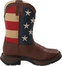 British Flag Boots Amazon Com Durango Kids Bt245 Lil U0027 8 Inch Patriotic Boots