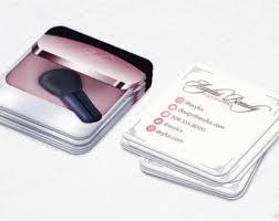 500 Business Cards Mini Nail Tech Business Cards Salon Circular Cards