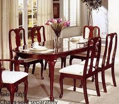 cherry dining room set cherry wood dining room sets home interior design ideas