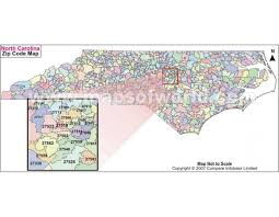 nc zip code map 132 best us maps images on maps and south carolina