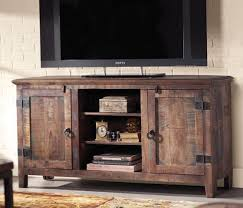 Rustic Tv Console Table Holbrook Tv Stand Add Interest And Rustic Appeal To Your Home