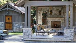 Outdoor Fireplace Designs - creative outdoor spaces and design ideas