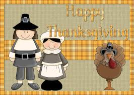 pilgrims and turkey happy thanksgiving background royalty free