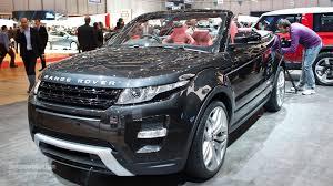 land rover evoque black convertible range rover evoque cabrio could be ready in 2015 autoevolution