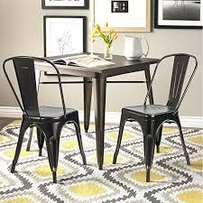 Tolix Dining Chairs Devoko Metal Indoor Outdoor Chairs Distressed Tolix Metal Chair