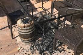 Patio Table Glass Shattered Fears Over Argos And Asda Glass Patio Tables That U0027explode U0027 In
