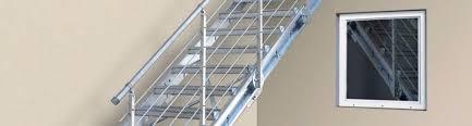 treppen gitterroste treppen system bausatz k60