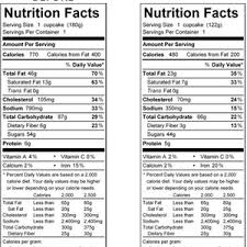 blank nutrition facts template 8 best photos of nutrition food label templates birthday