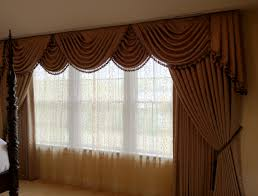 formal swags jabots sheers drapes window works