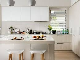New Jersey Kitchen Cabinets White Wood Midcentury Barstools Gray Pendant Lights Light Cabinets