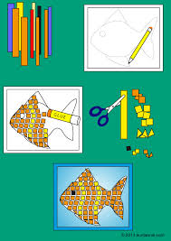 How To Make Paper Mosaics Friday Fun Aunt Annie U0027s Crafts