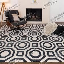 Geometrical Rugs European Contracted Carpet Rugs Of Bedroom Sitting Room Sofa