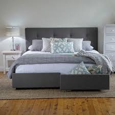 Bed Frame Drawers King Bed Frame With Storage Drawers Products 1825