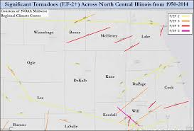 Evanston Illinois Map by April 9 2015 Tornado Event Including Rochelle Fairdale Ef 4 Tornado