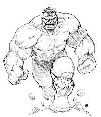 hulk logo coloring pages image information