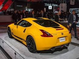 nissan yellow 2018 nissan 370z heritage edition debuts kelley blue book