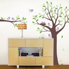 tree wall decals family tree decals shelving tree decals tree wall decal with bird family