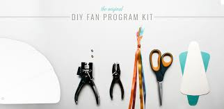 fan wedding program kits diy wedding programs do it yourself fan programs diy invitations