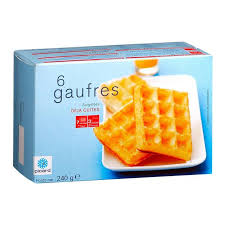 Toaster Waffles Picard 6 Waffles Frozen 240g From Ocado