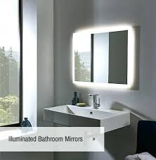 Illuminated Bathroom Mirrors Lighted Bathroom Mirrors Illuminated Bathroom Mirrors