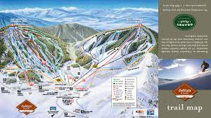 Colorado Ski Map by Solvista Ski Resort Map Alltrips