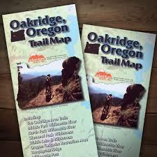 Maps Bend Oregon by Oakridge Trails Adventure Map Bend Trails Gear
