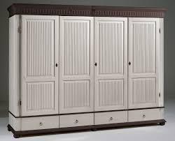 Schlafzimmerschrank Zerlegen Kleiderschrank 4türig 252x218x62cm Geteilte Türfüllung 4