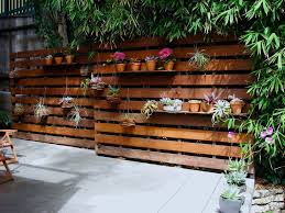 pallet garden patio modern with pink flowers contemporary outdoor
