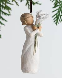 willow tree home decor christmas ornaments angel christmas tree ornaments christmas