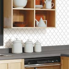 Stick Tiles Peel And Stick Tile Backsplashes RoomMates - Peel and stick kitchen backsplash tiles