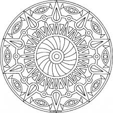 printable mandala coloring pages with regard to residence cool