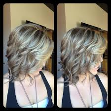 black lowlights in white gray hair amber heater gorgeous hair salon salisbury md darker for fall