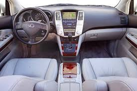 lexus 300 rx 2004 2003 2004 luxury suv comparison infiniti mercedes lexus