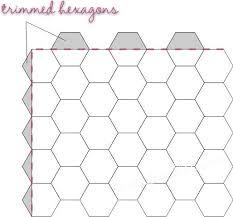 25 unique hexagon quilt pattern ideas on pinterest hexagon