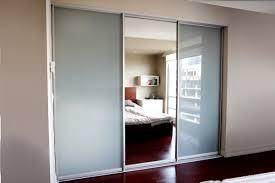 Sliding Glass Mirrored Closet Doors Toronto Sliding Doors Closet On White Sliding Door Wardrobe Posite