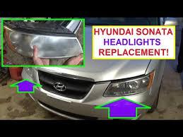 2011 hyundai sonata headlight bulb how to remove and replace left or right headlight on hyundai
