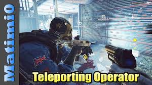 siege https teleporting operator rainbow six siege