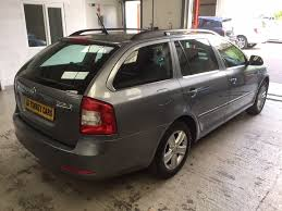 used skoda octavia estate 1 6 tdi greenline ii cr dpf 5dr in