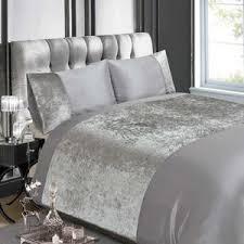 buy velvet crushed velvet duvet cover set online norwood textiles