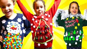 diy ugly christmas jumper for save the children christmas jumper