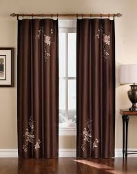 asia faux silk shimmer floral embroidered panel curtainworks com
