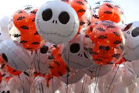 halloween baloons jack skellington balloon
