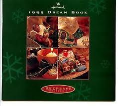 hallmark 1995 book ornaments vintage